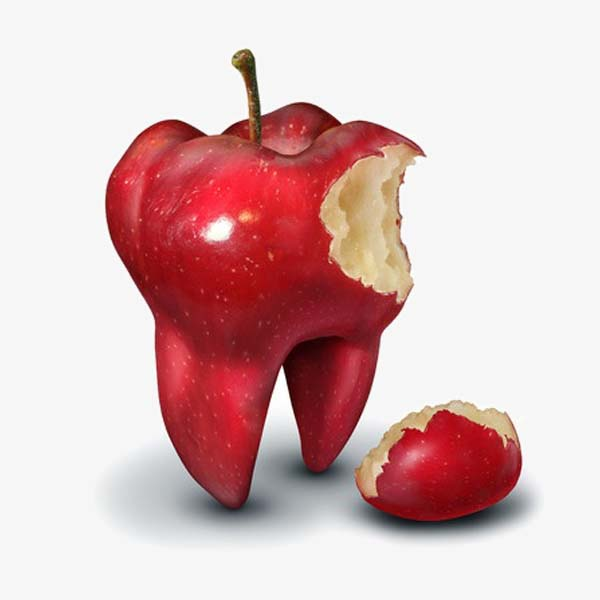 an apple a day keeps your teeth in good health